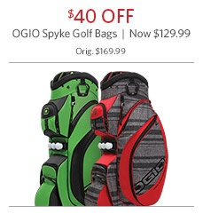 OGIO Spyke Golf Bags Now $129.99