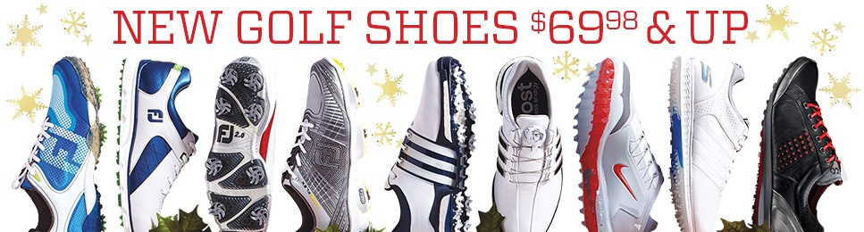 Shop New Golf Shoes $69.98 & Up