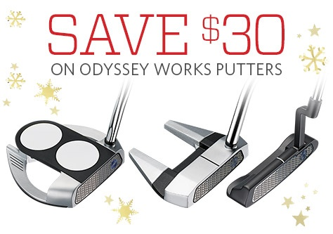 Save $30 on Odyssey Work Putters