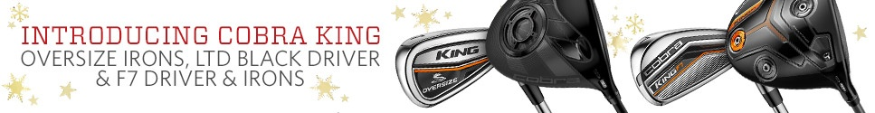 New from Cobra - Order the King F7 Driver & Iron