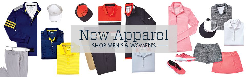 Shop Men's & Women's Apparel