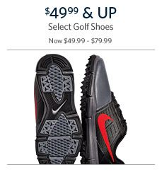 Golf Shoes $44.99 & Up
