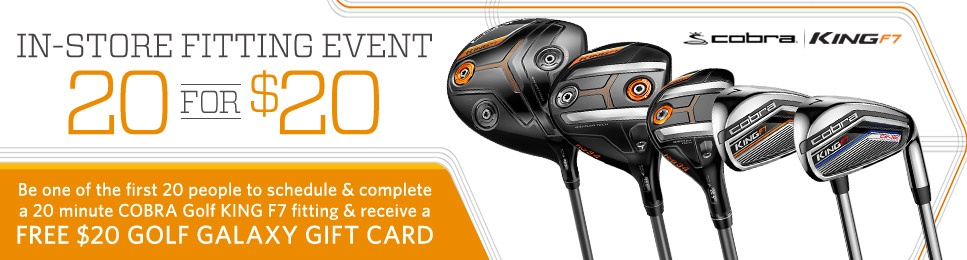 Cobra King In-Store Fitting Event