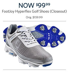 FootJoy Hyperflex Golf Shoes Now $99.99