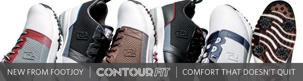New from FootJoy - Contour FIT