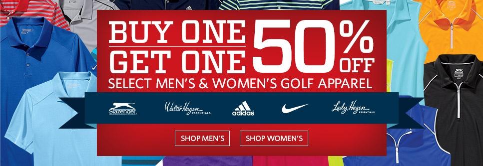 Shop Apparel BOGO 50 Deals