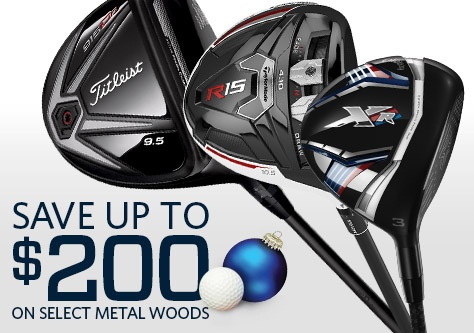 Save on Select Metal Woods