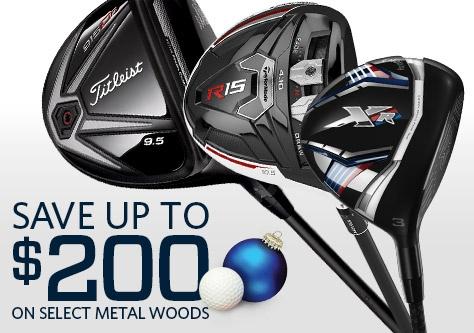 Save on Select Metal Woods