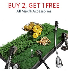 Buy 2 Get 1 Free Maxfli Accessories