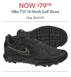 Nike Mesh Golf Shoes