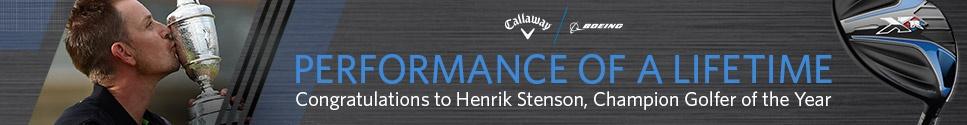 Congratulations to Henrik Stenson