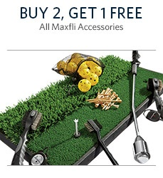 Buy 2 Get 1 Free Maxfli Accessories