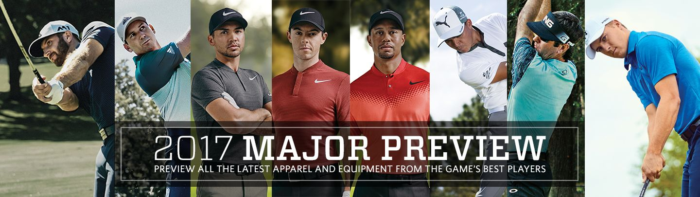 Major Golf Tournament Player Gear