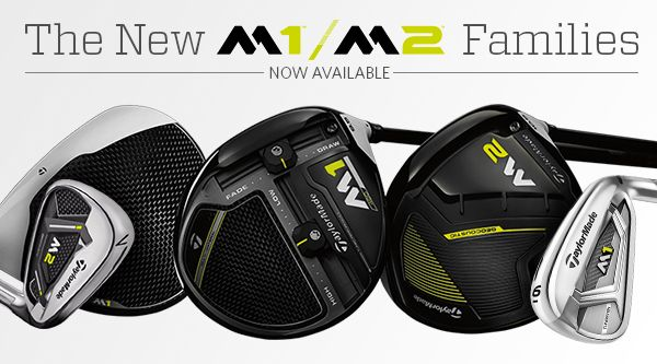 New from TaylorMade - New M1 & M2
