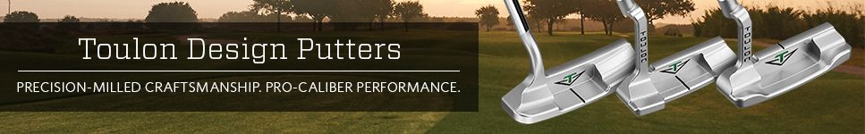 toulon design putters precision-milled craftsmanship
