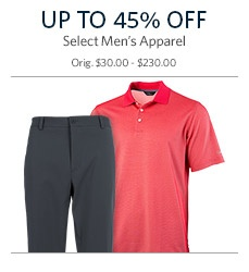 Save on Men's Apparel