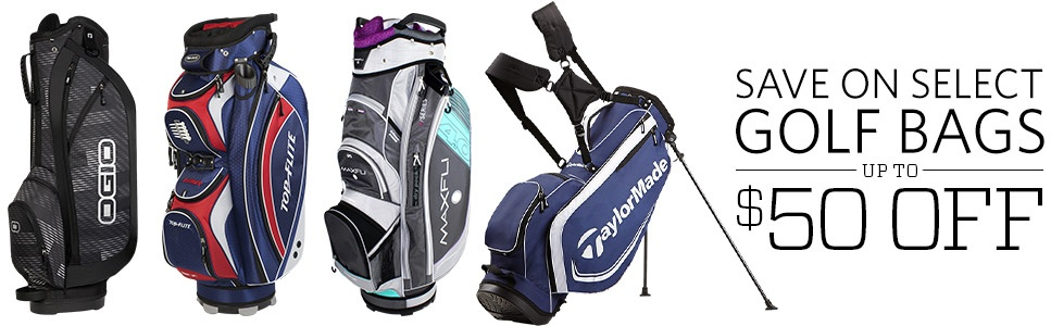 Save on Select Golf Bags