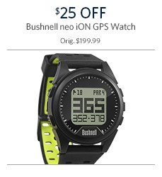 Bushnell neo iON GPS Wtach