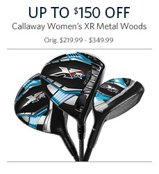Callaway Women's XR Metal Woods