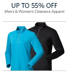 Men's & Women's Clearance Apparel