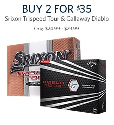 Shop Your Choice 2 for 35 Golf Balls