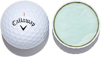Image result for 3 piece golf ball