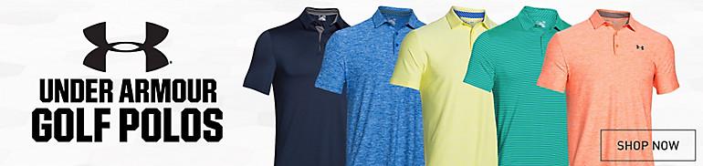 Shop UA Golf Polos
