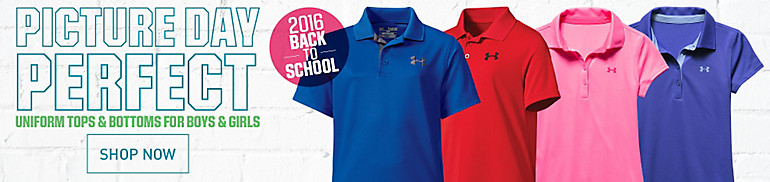 Shop Youth Golf Apparel