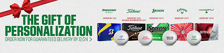 Shop Golf Ball Free Personalization