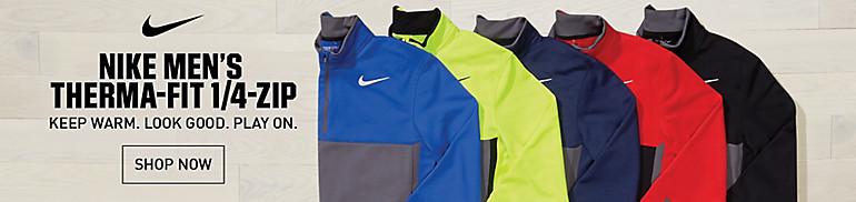Nike Men's Therma-FIT Quarter-Zip Golf Pullover