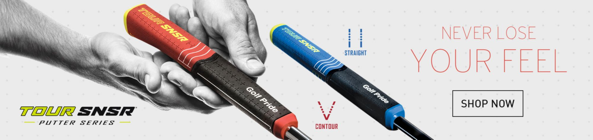 Shop Golf Pride Tour SNSR Grips