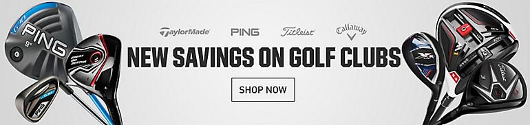 Shop New Golf Equipment