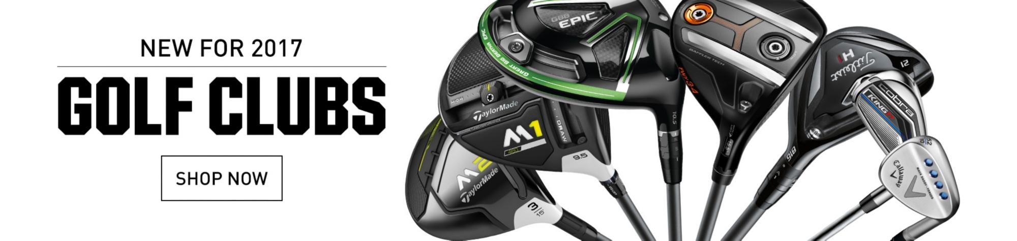 New Golf Equipment Arrivals
