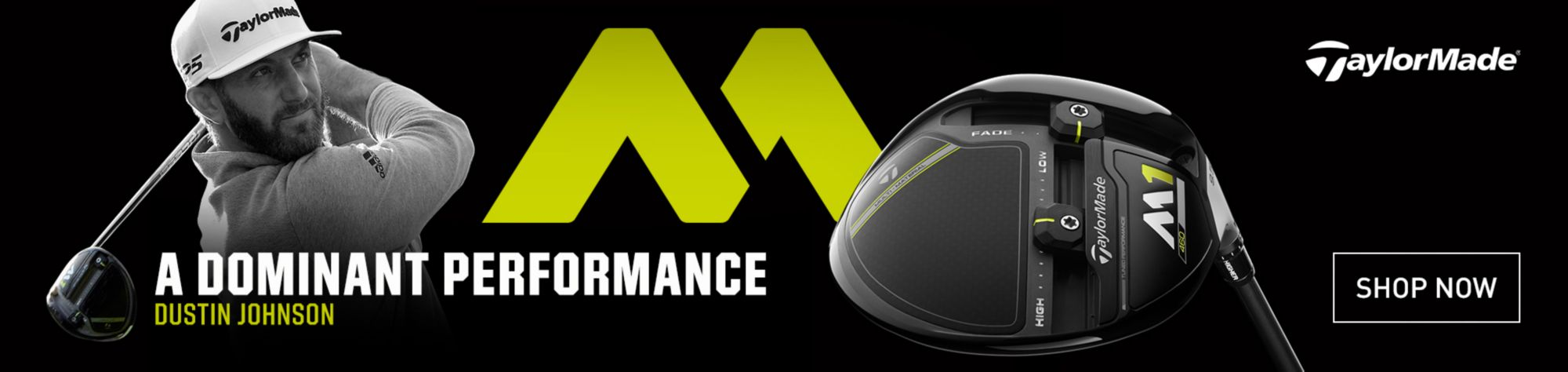 TaylorMade New M1 & M2 Drivers, Fairways, Rescues & Irons