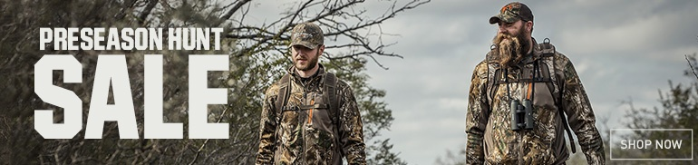 Shop PreSeason Hunting Sale