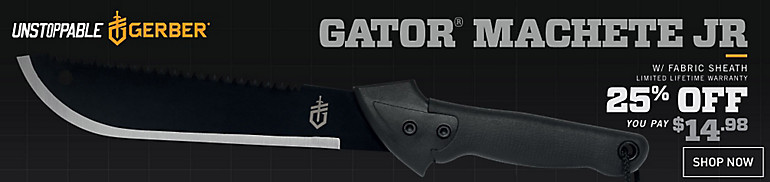 Shop Gator Machete