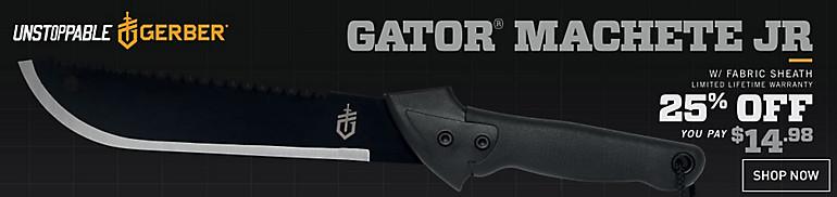Shop Gator Machete