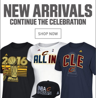 Shop New Cavs Arrivals