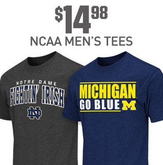 Shop NCAA Mens Tees