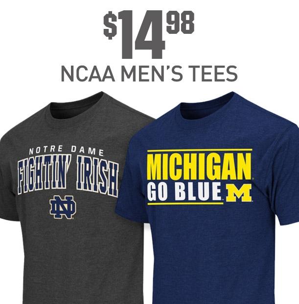 Shop NCAA Mens Tees
