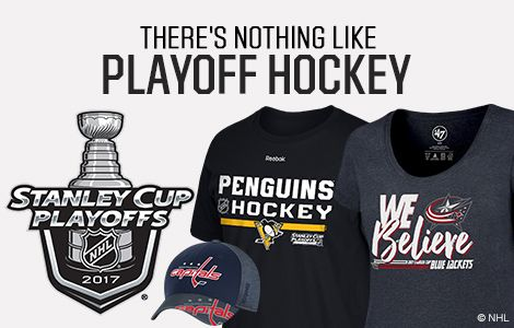 Shop NHL Playoff Gear