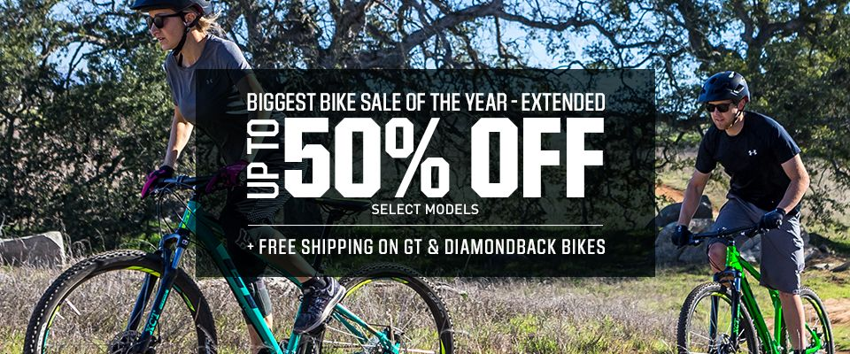 Shop Up To 50% Off Bikes And Free Shipping On Select Models