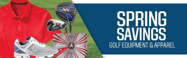 Shop Spring Golf Savings