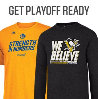 Shop NHL And NBA Playoff Gear