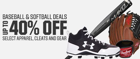 Shop Baseball And Softball Deals