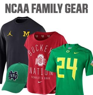 Shop NCAA Family Gear