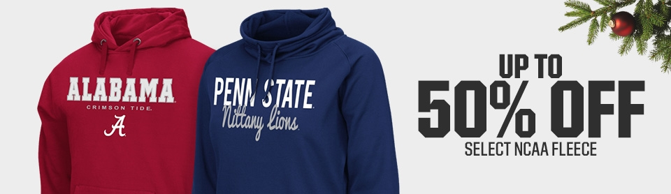 Shop 50% Off NCAA Fleece