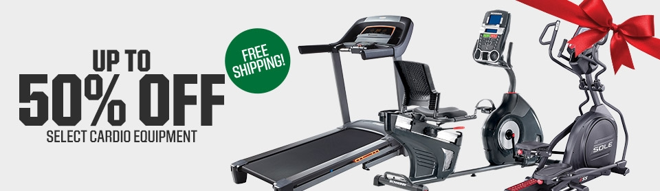Shop 50% Off Select Cardio Equipment