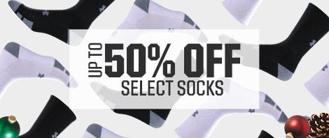 Shop 50% Off Select Socks