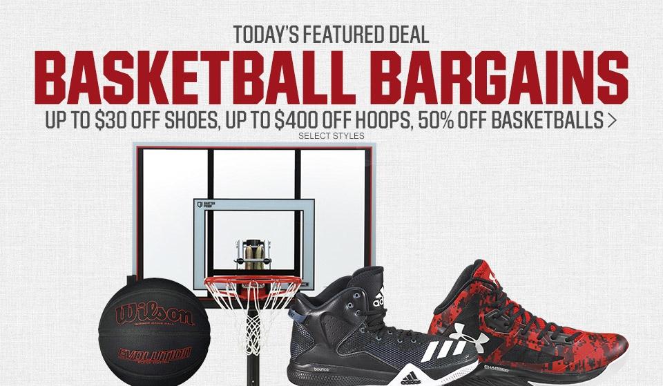 Shop Basketball Bargains